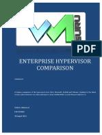 Hypervisor Comparison 5.5