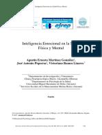 Inteligencia Emocional y Salud. Estudios