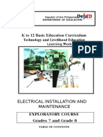 TLE Module (Electrical Installation)