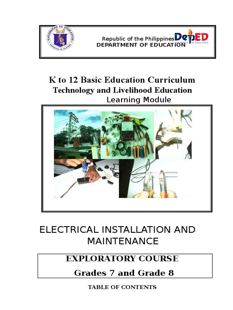 TLE Module (Electrical Installation) | Electrical Connector | Ac ...