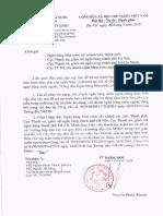 20160916 CV 6960 NHNN Ve Cho Vay Tai Tai Tro, Vay Tuan Hoan, Dao No