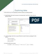 Instructions ExploringData