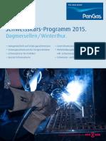 PanGas Schweisskursprogramm 2015 De553 114531