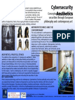 Cybersecurity Aesthetics - CDT Poster 2016 - David Mellor