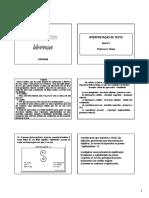 Português - interpretação de textos - aula 3