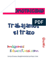 FICHAS Trabajamos La Preescritura y Trazo y La Grafomotricidad PDF