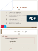 1.Vector Spaces