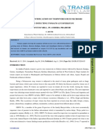 24. IJASR -Survey and Identification of Tospovirus Bud Necrosis Isolates Infecting