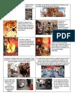 FIESTAS España Tarjetas y Fichas