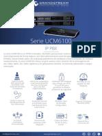 Ucm6100 Series Spanish Datasheet