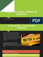 Servicios de Medicina Legal