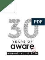 AWARE Annual Report 2014 Final