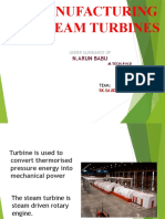 steam turbine funtion