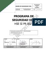 Programa de Seguridad Vial Hse Si Pr 002