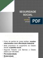 Aula 01 Seguridade Social Evolução Histórica No Mundo e Legislativa No Brasil