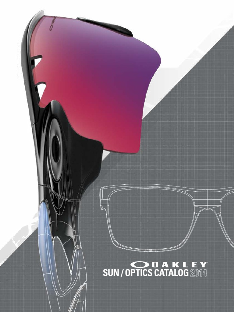 7eecc99a3d 2014 Oakley EW and RX Catalog