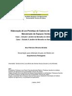 Dissertação de Mestrado Arquitectura Paisagista