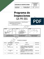 Programa de Inspecciones Ga Pr 001