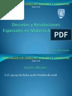 Decretos y Resoluciones