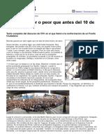 Página 12 Especiales - Están Mejor o Peor Que Antes Del 10 de Diciembre (Discurso CFK en Comodoro Py, 14-04-16)