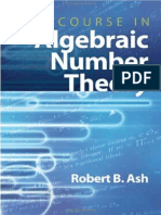 A Course in Algebraic Number Theory_Robert B. Ash