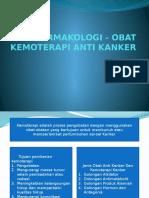Farmakologi - Obat Kemoterapi Anti Kanker