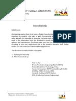 Information for Interns