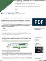 Factores de Riesgo Metodo Ocra Checklist