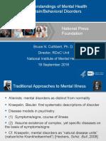 Understanding mental health and brain disorders