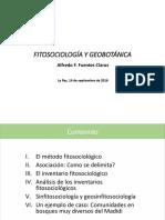 Fuentes 2016 Fitosociologia Presentacion