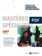 Brochure Masteres Specialises