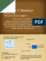 prsentasi Hukum II Newton.pptx