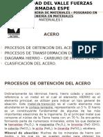Acero-Proceso de Obtención y Transformación