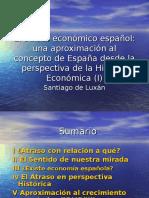 El Atraso Económico Español Eco 1
