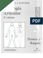 3. Fisiologia Articular - Tronco y Raquis