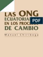 Libro Las Ong Ecuatorianas en Los Procesos de Cambio