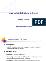 Korea - Experiences in VAT Administration