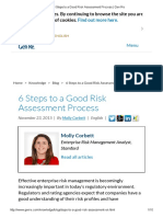 6 Steps to a Good Risk Assessment Process _ Gen Re