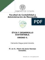 Ética y Desarrollo Sustentable