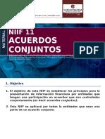 3. NIIF 11 Acuerdos Conjuntos