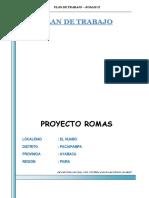 Plan de Trabajo Romas Huabo