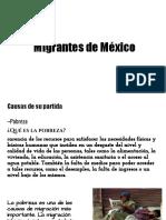 Migrantes de Mexico