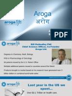 Aroga Life Presentation