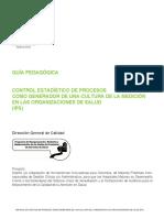 Control Estadistico Organizaciones Salud