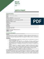 Maestria en Logística Integral