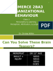 organisational behaviour