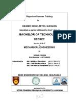 summer training report beumer group