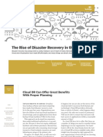 Rise of Disaster Recovery in the Cloud