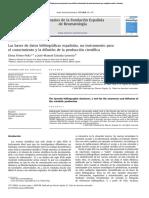 Paper Base de Datos Españolas