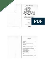 Medina, J. - Los 12 Principios Del Cerebro